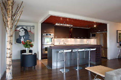 south granville condo interior kitchen renovation