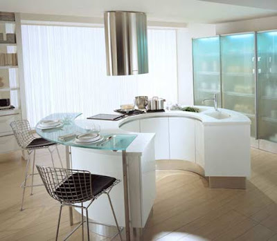 modern countertop kitchen design