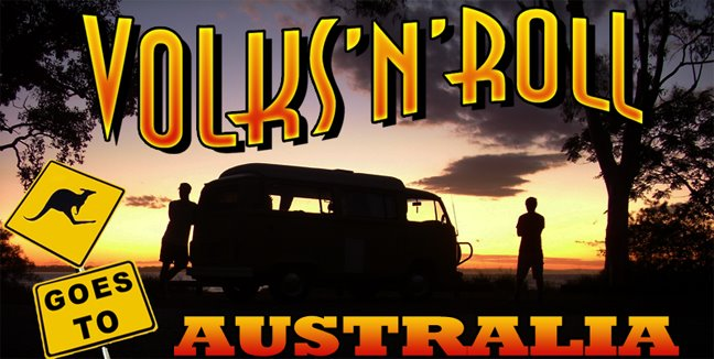 Volks'n'roll goes to Australia