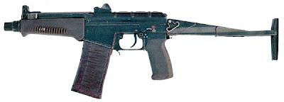 A-91 Russian assault rifle/9A-91 compact assault rifle
