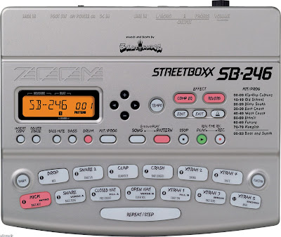 Zoom SB246 Street Boxx Drum Machine