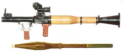 Anti tank grenade launcher