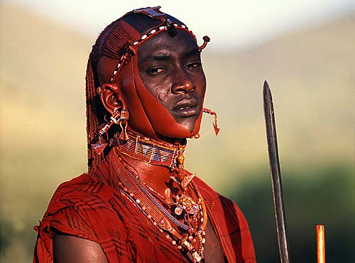 Still, to this very day, African Tribesman Warriors still exist in ...