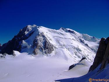 Ruta de los Cuatromiles al Mont Blanc
