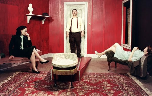 sartrean philosophical themes in the play no exit No exit is a germane play for such an exploration, as the content of the play is an expression of sartre's seminal theories found in sections of being and nothingness.