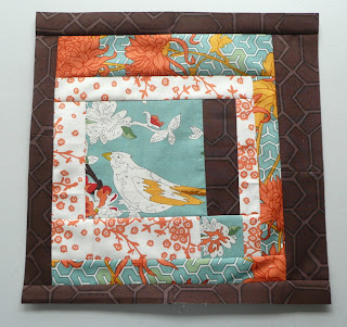 Uptown paint by number quilt block