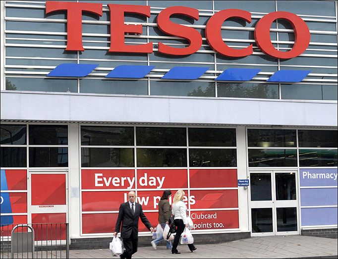 TESCO FREE DELIVERY