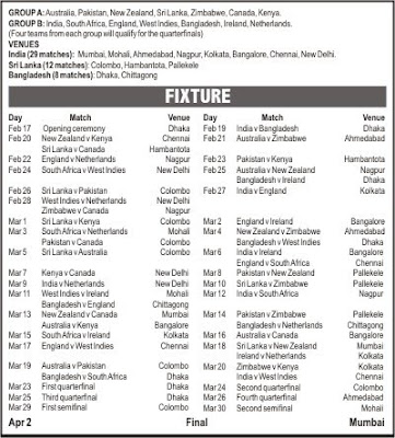 World+cup+2011+schedule+