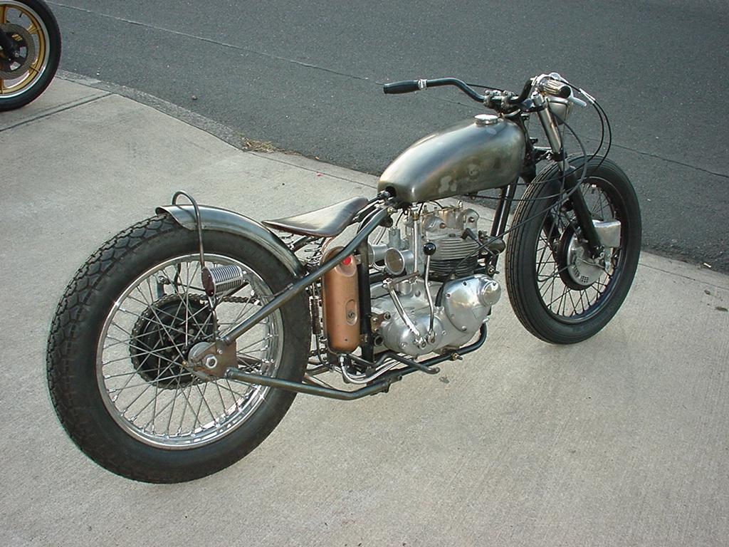 Old Triumph Motorcycle For Sale Wallpaper For Desktop
