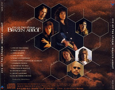 Blog: Brazen Abbot - Eye Of The Storm (1996)