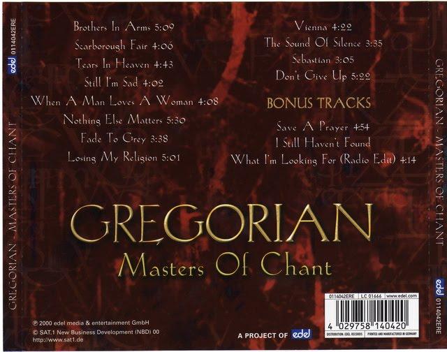 gregorian sadisfaction flac