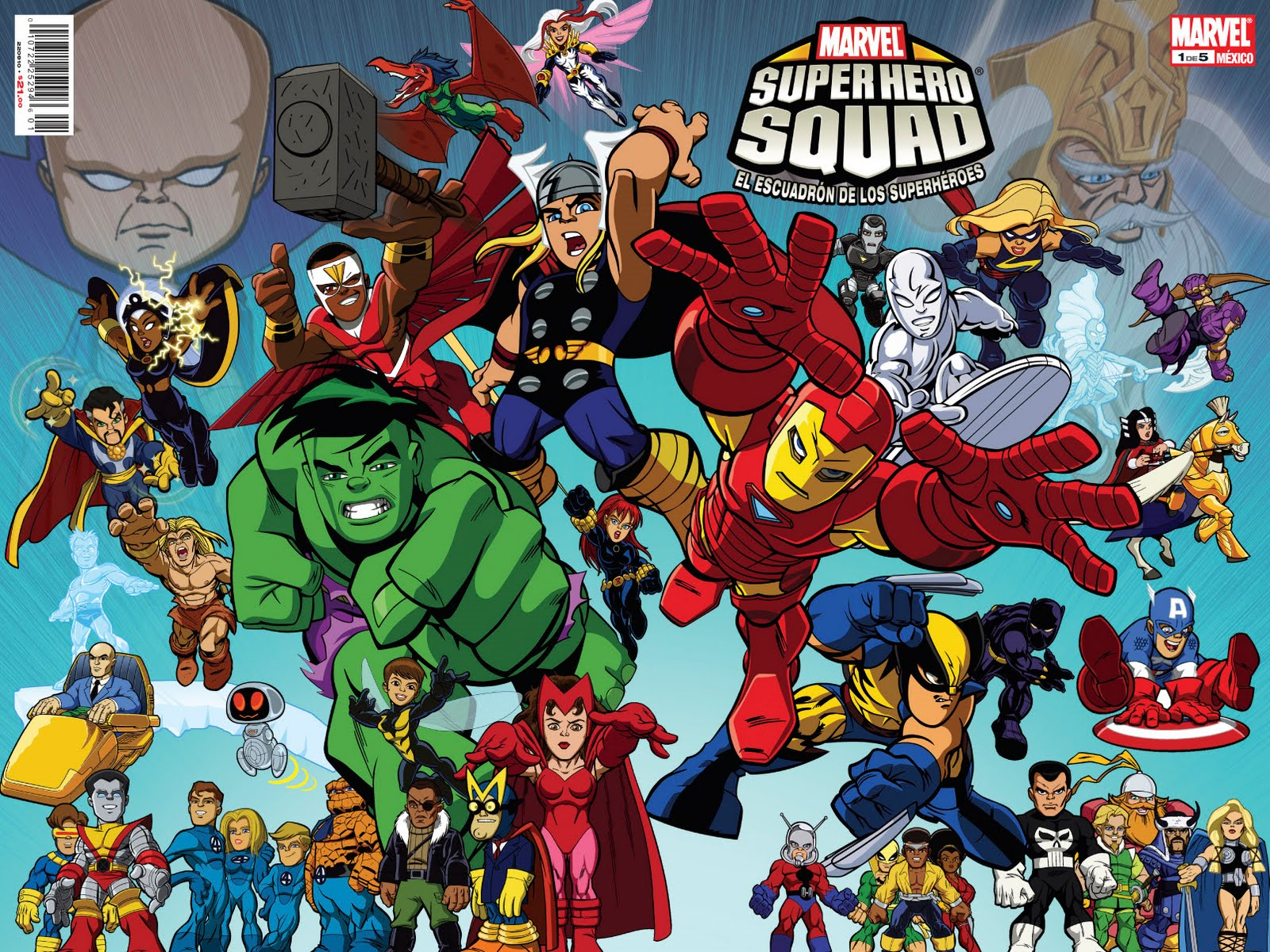 Marvel Super Hero Squad #1 a la venta