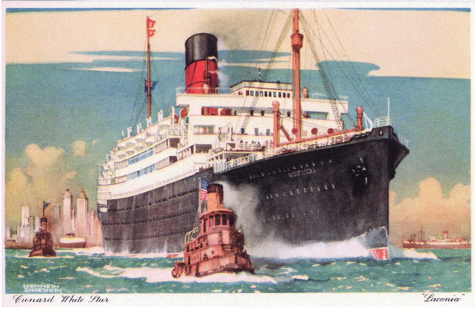 Qe2 Pride Of The Clyde R M S Laconia