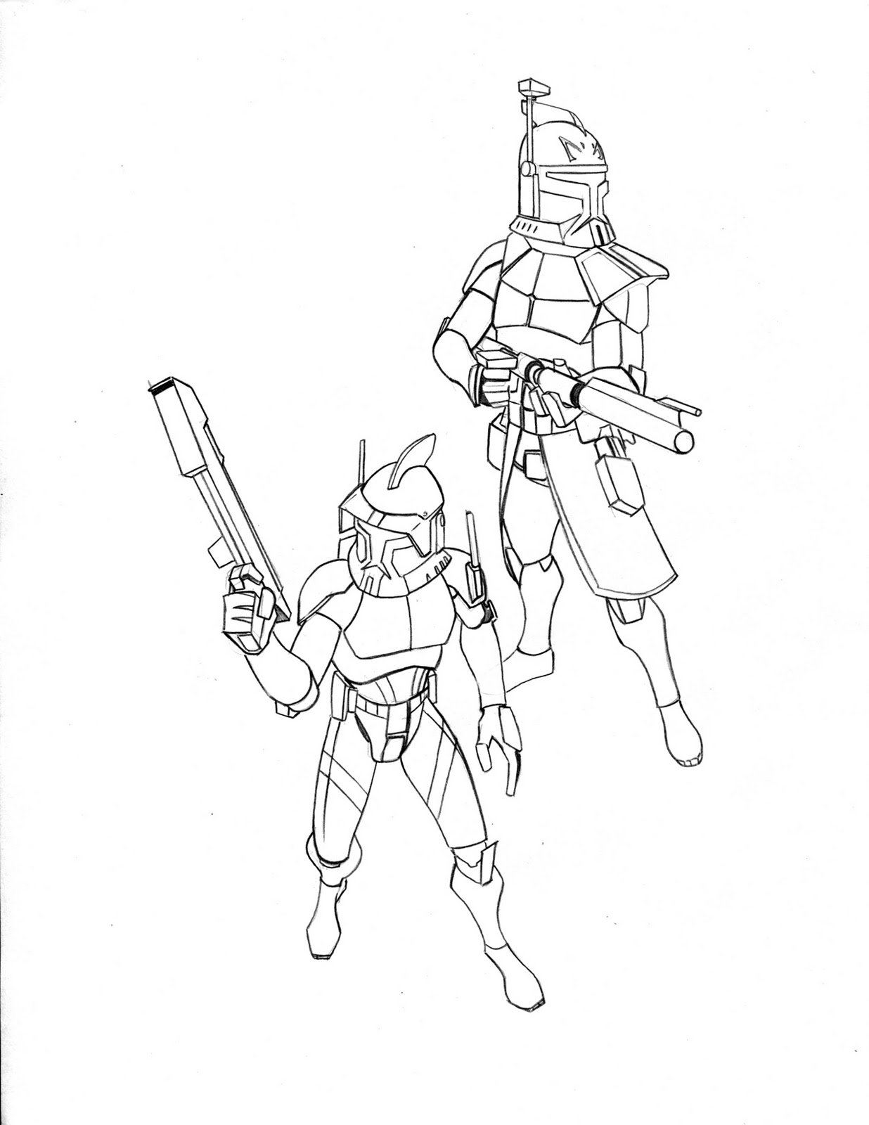 commander cody coloring pages - photo#6