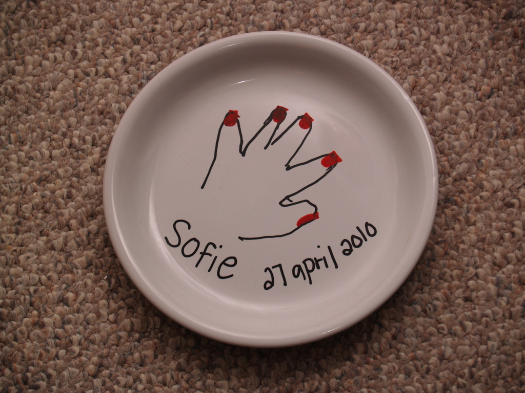 How to decorate plates so you can eat off of them & How to decorate plates so you can eat off of them - Housewife Eclectic