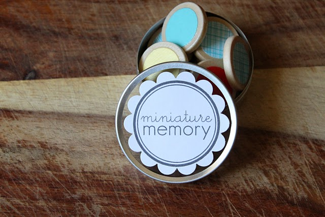 Oh what fun diy mini memory game miniature memory game that you can make yourself brought to you by the fabulous dandee solutioingenieria Choice Image