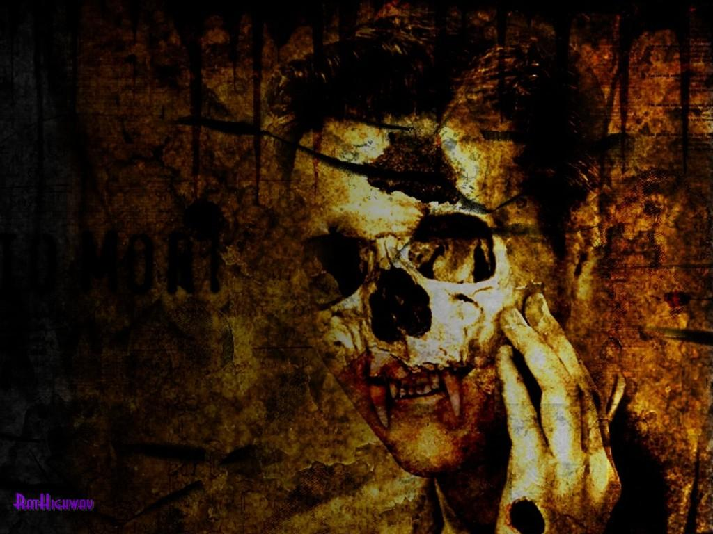gothic skull wallpapers fx wall