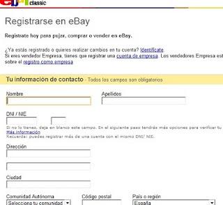 comprar ebay manual