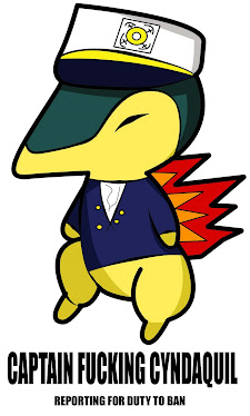 CYNDAQUIL IS THE CAPTAIN