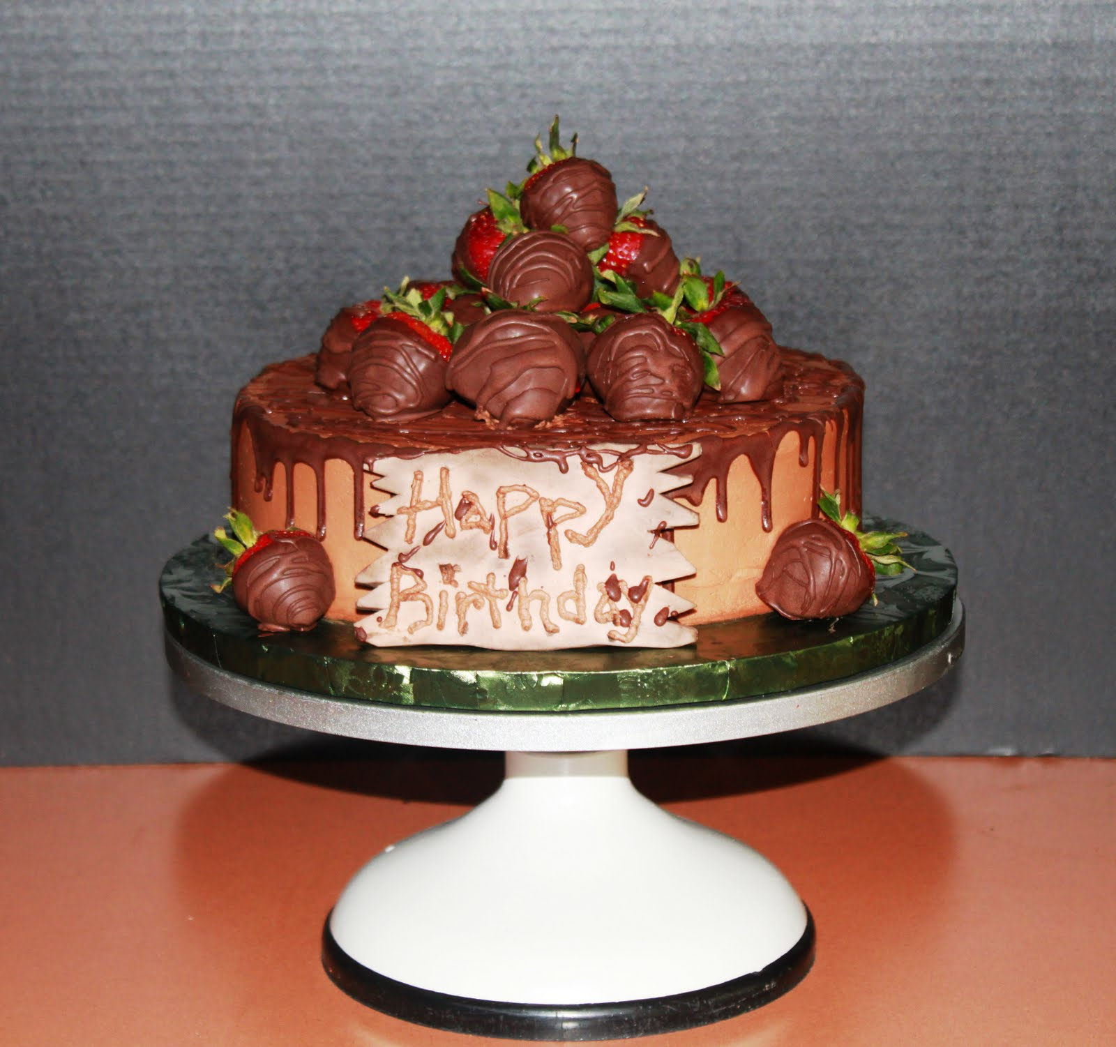 Its A Toni Cake Chocolate Covered Strawberries