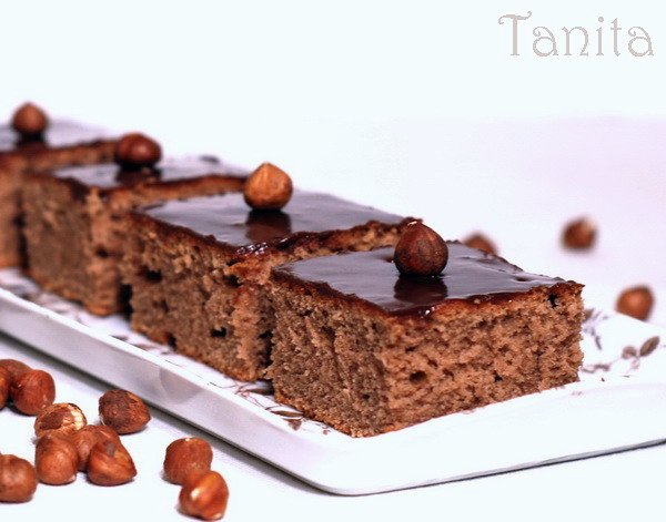 Шоколадов кейк с Нутела и банан