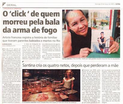 materia do jornal EXTRA do 29/03/2009