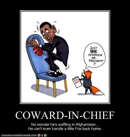 obama anti american coward