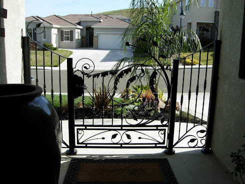 Landscaping Front Entry-Security After
