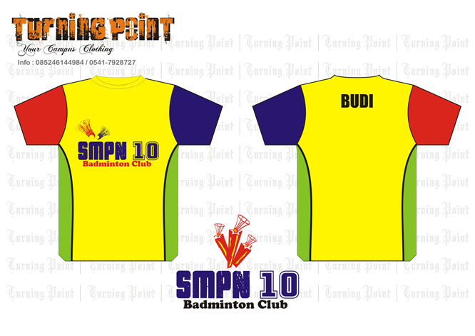 TurningPoint: new design for SMPN 10 Badminton Club