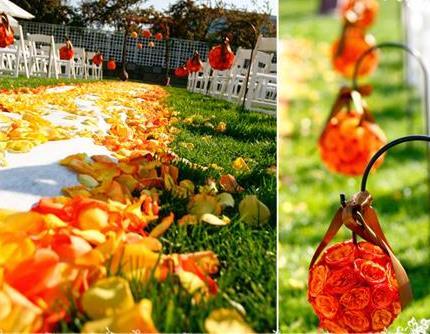 LeLe Floral: Orange Roses