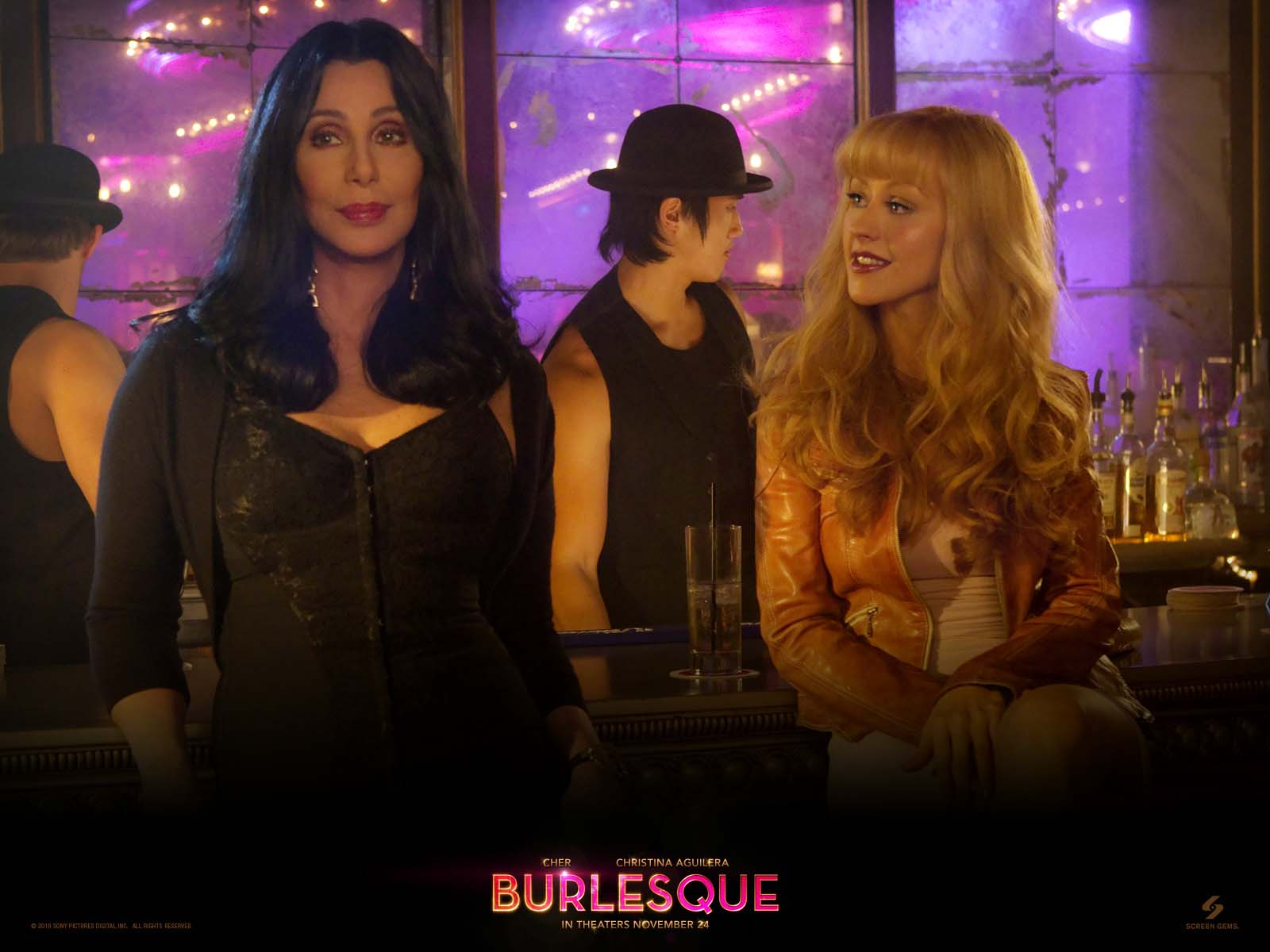 A MILLION OF WALLPAPERS.COM: BURLESQUE MOVIE WALLPAPERS ...