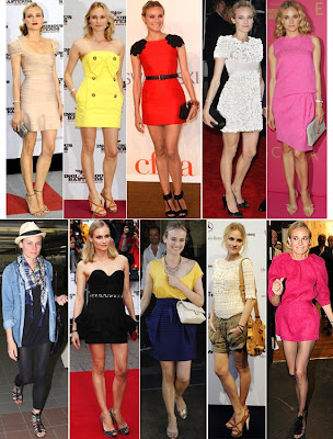 Diane Kruger's style has been so fantastic lately I had to do a montage !