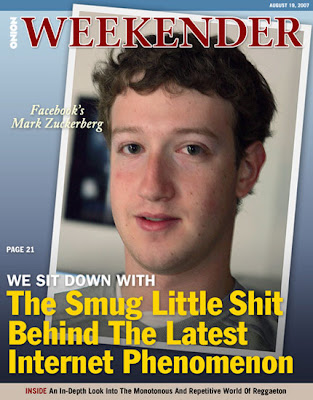 The face of Facebook Two weeks ago, EMTV featured Facebook on its popular