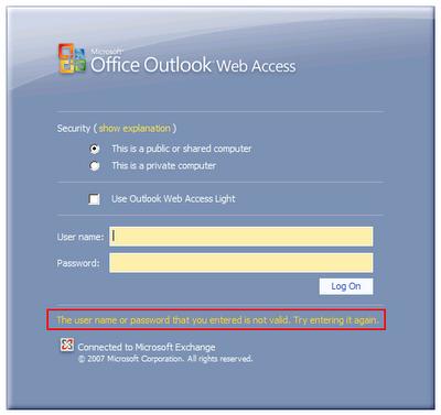 The New Exchange 2007 SP3 Password Reset Tool | The EXPTA {blog}