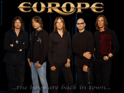 CONFIRMADO: Europe The Band en