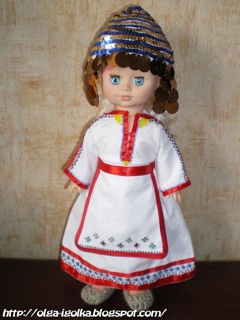 Чувашский народный костюм своими руками 29