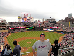 Enjoying a Target Field Twins Game