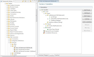 Location of SQL Services in Teamworks Authoring Environment