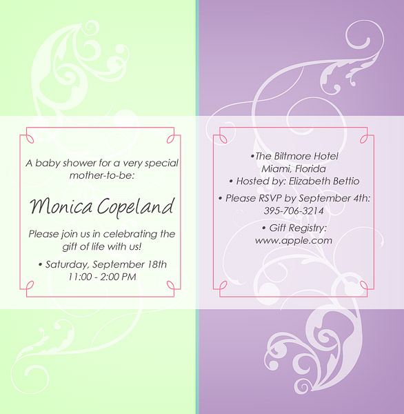 Baby Shower Favors Miami ~ Copeland photography baby shower invitations fort