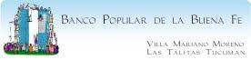Conoce las actividades del Banco Popular de la Buena Fe Villa Mariano Moreno