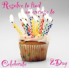 Resolve to find an excuse to celebrate 2day.