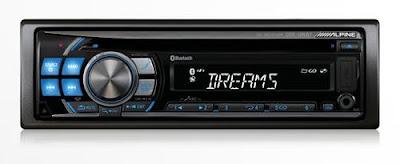 Alpine CDE-126BT CD MP3/WMA/AAC Receiver