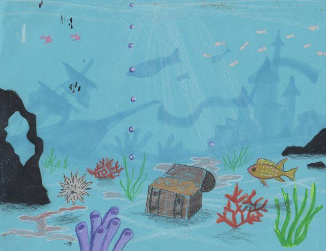 Ocean Floor Drawing How to Draw The Ocean Floor