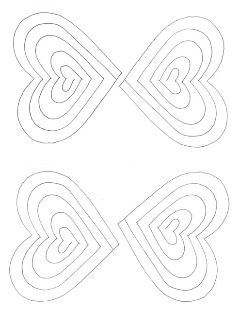Creators Joy Simple Printable Popup Valentine Card