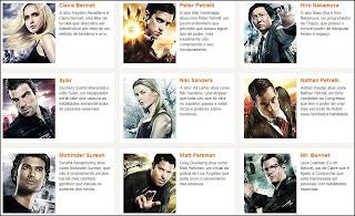 Personagens de heroes