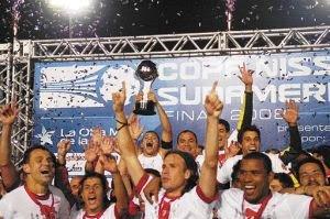 Inter campeão da sul-americana 2008