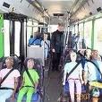 Cinto de segurança em ônibus