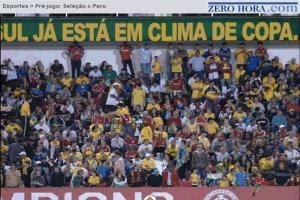 Palavras,Torcida unida pela seleção brasileira no RS