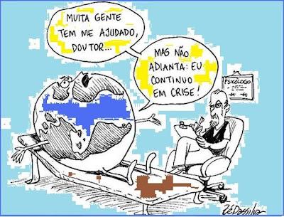 A crise mundial no analista