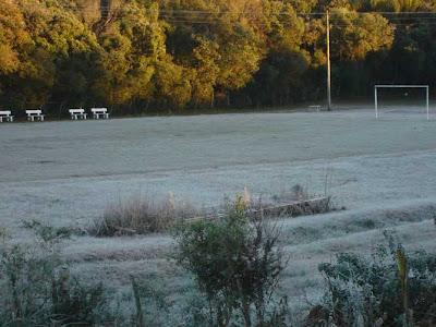 Imagens do frio no RS, o mais rigoroso.